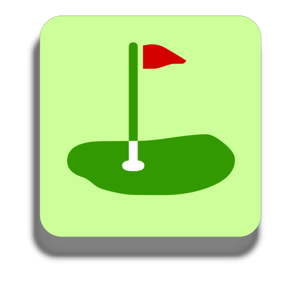Golf Ball Blue Tee PNG images