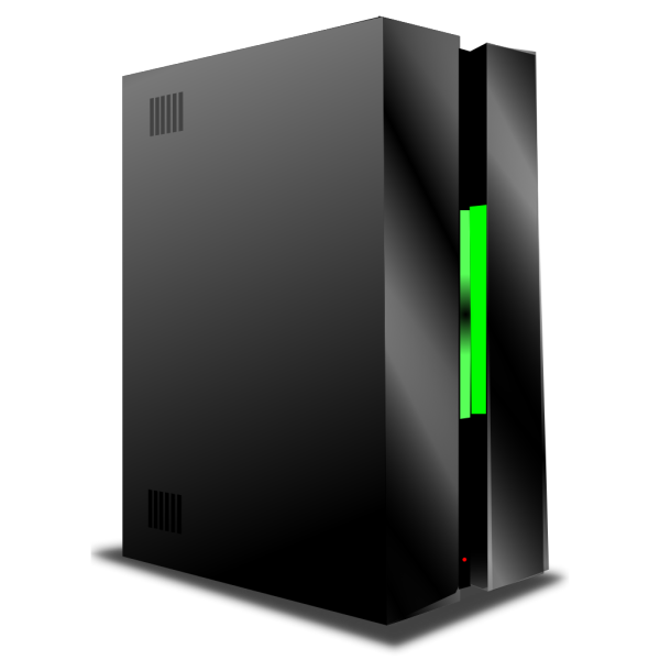 Blue Server PNG Clip art