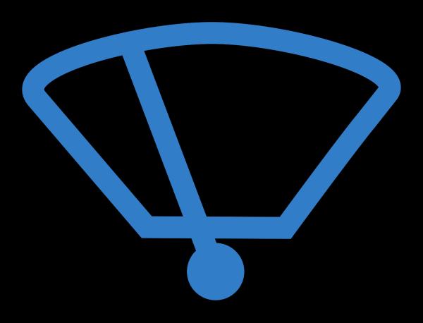Car Simple Blue  PNG Clip art