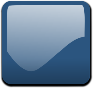 Dark Blue Pastel Glossy Button Blank PNG Clip art
