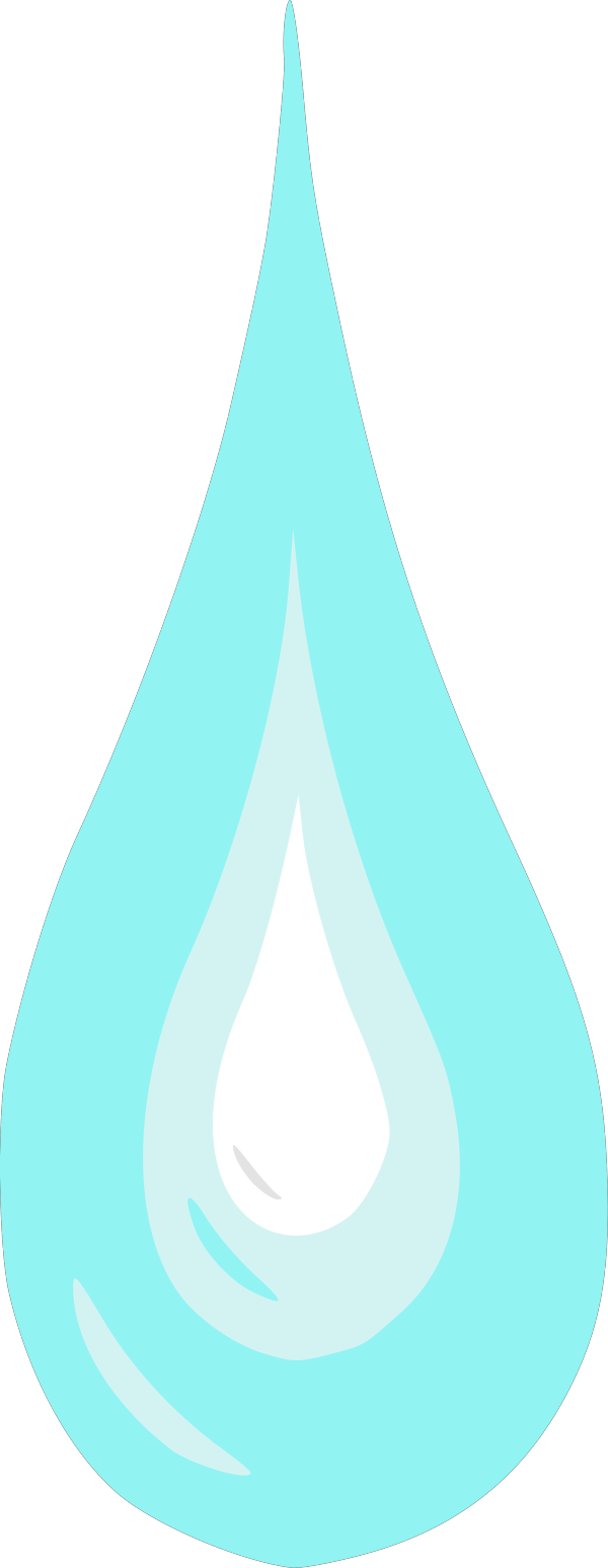 Bluesy Rain PNG Clip art