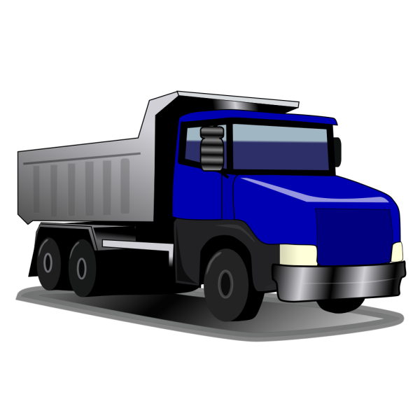 Container Truck PNG Clip art