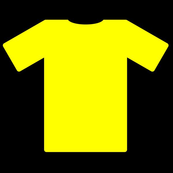 Blue Yellow Tshirt PNG Clip art