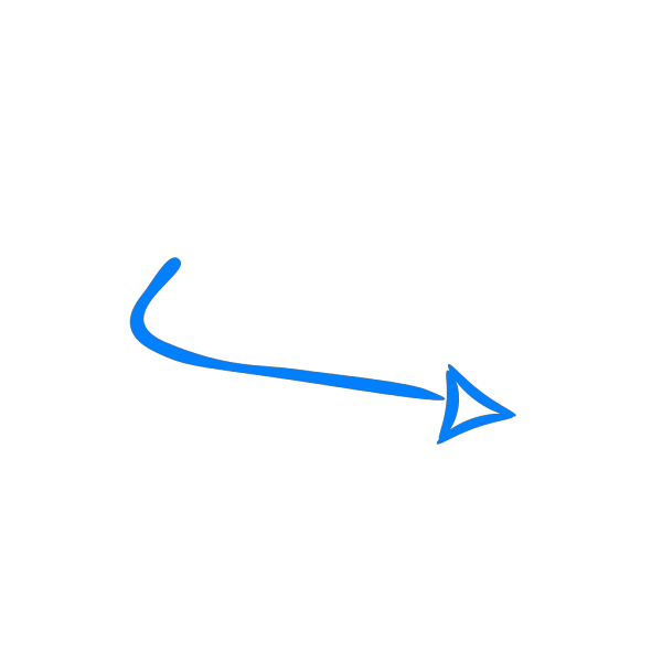 Blue Arrow Down PNG clipart