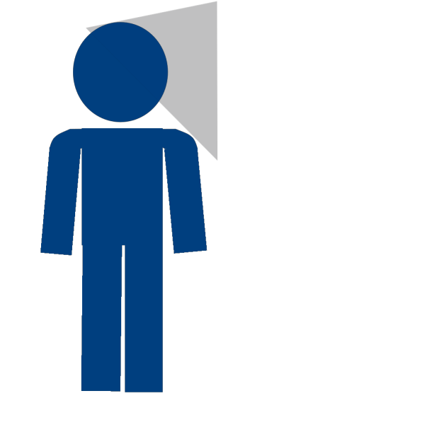 Man Sign Blue Looking PNG Clip art
