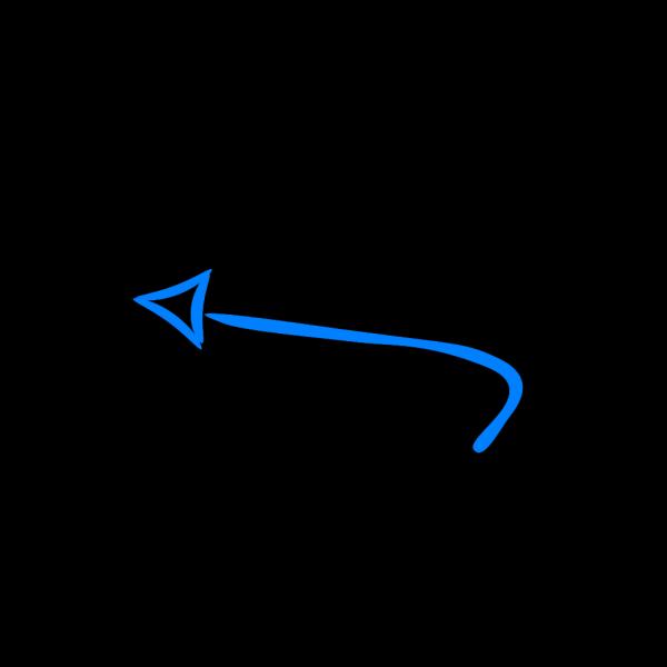 Right Blue Arrow PNG Clip art