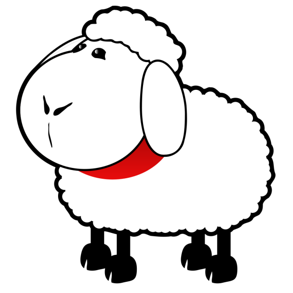 Counting Sheep PNG Clip art