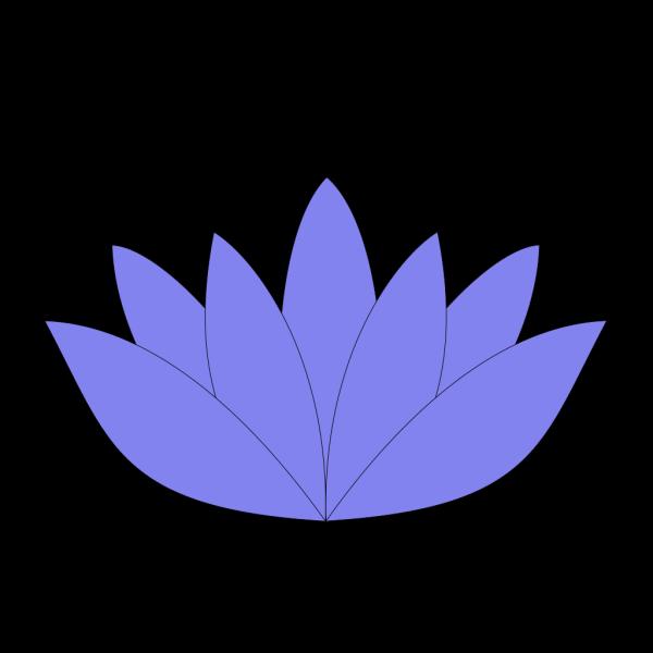 Lotus Flower Light Blue PNG Clip art