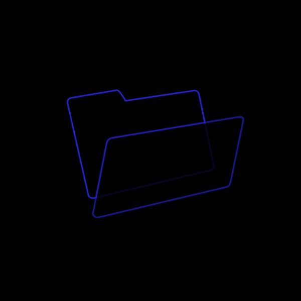 Blue/black PNG Clip art