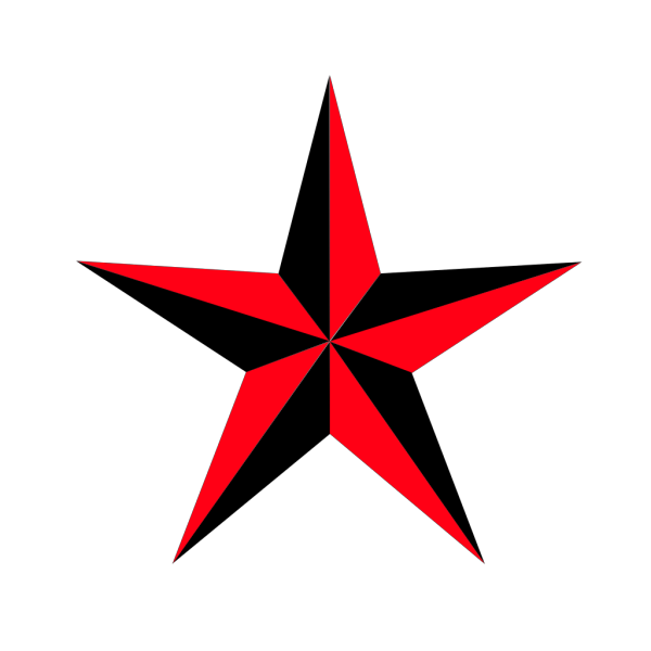 Rounded Star PNG Clip art