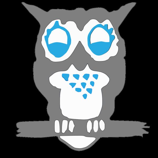 Grey Owl PNG Clip art