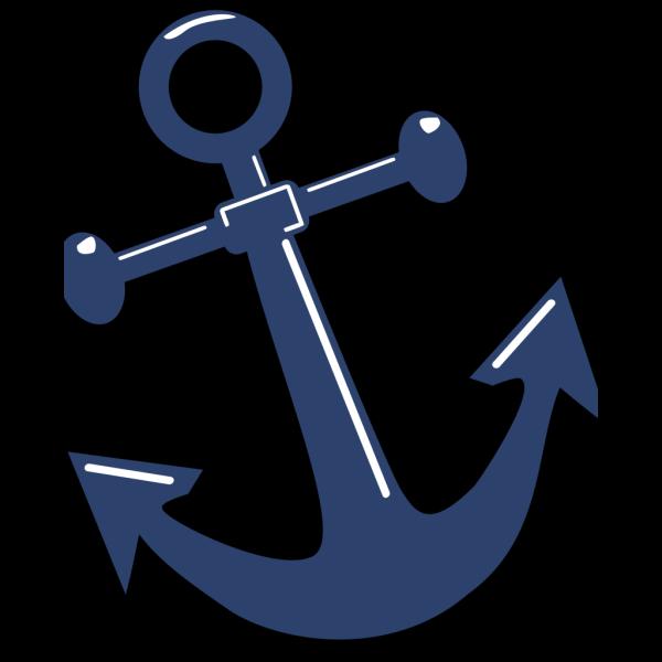 Tilted Anchor PNG Clip art