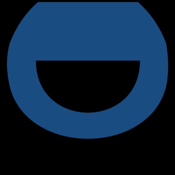 Divider Horizontal Blue PNG Clip art
