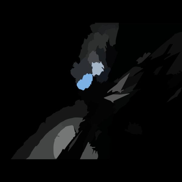 X Abstract Dark PNG Clip art