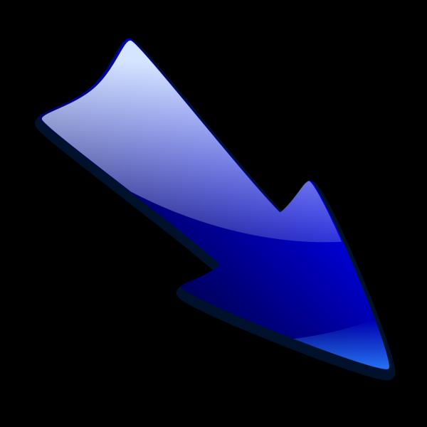 Arrow Blue PNG Clip art