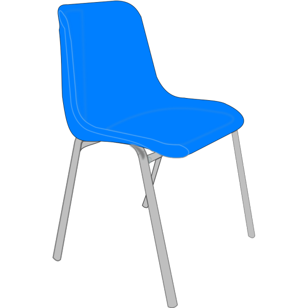 Classroom Blue Chair PNG images
