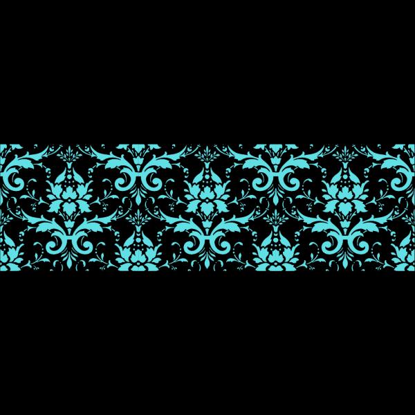 Tiffany Blue Damask PNG Clip art