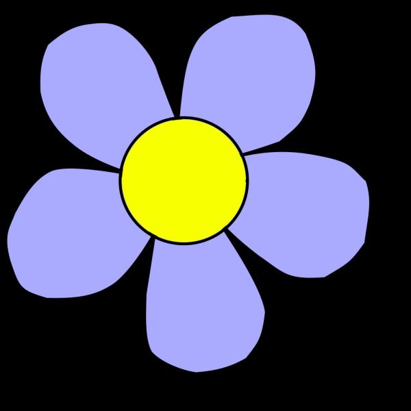 Flower Blue PNG Clip art