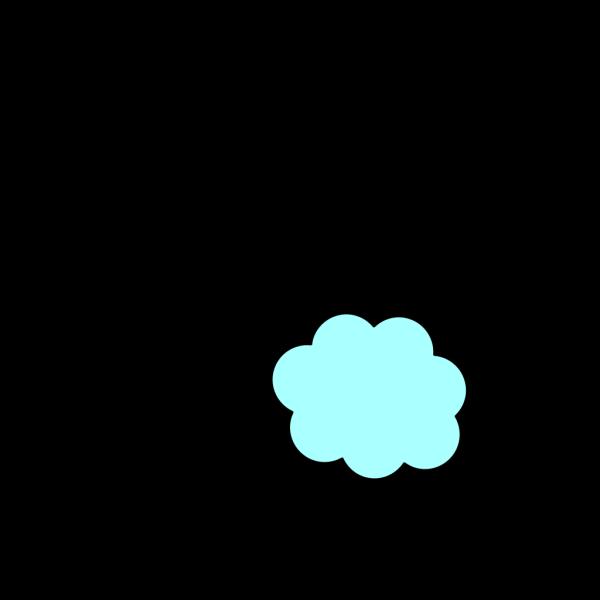 Light Blue Cloud PNG Clip art