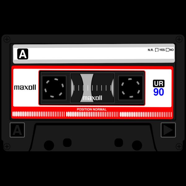 Cassette Sky Blue PNG Clip art