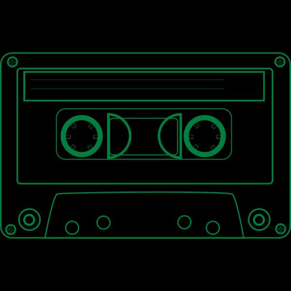 Cassette Dark Blue PNG Clip art