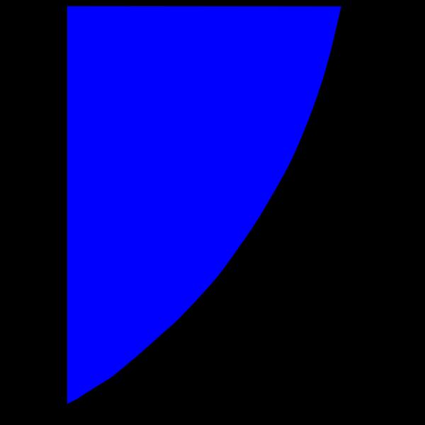 Blue Shield Quadrant PNG Clip art