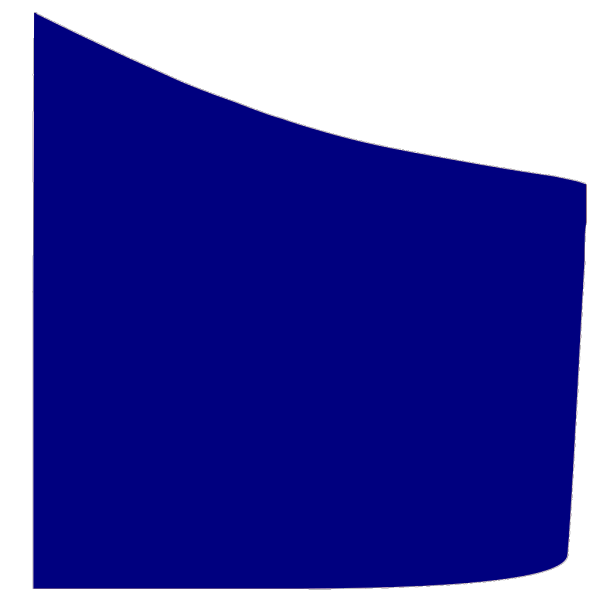 Blue Shield Quadrant PNG Clip art