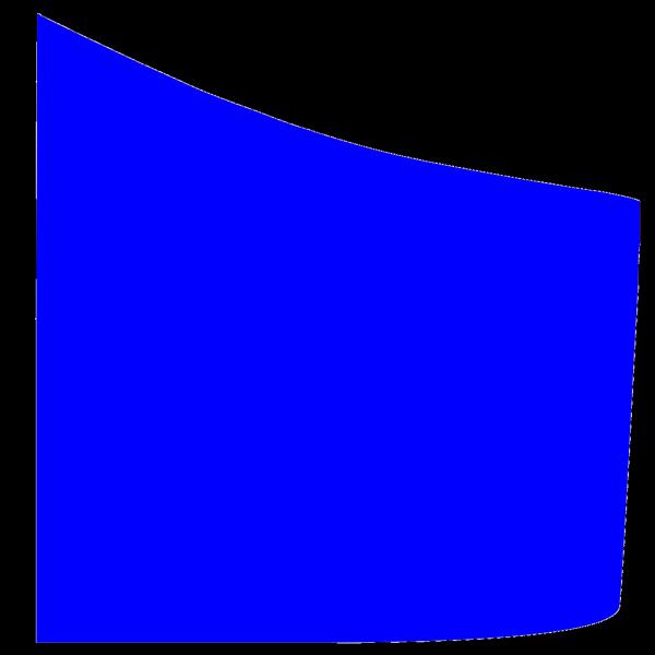 Royal Blue Shield Quadrant PNG Clip art