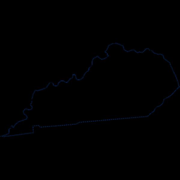Kentucky Heavy Stroke PNG Clip art