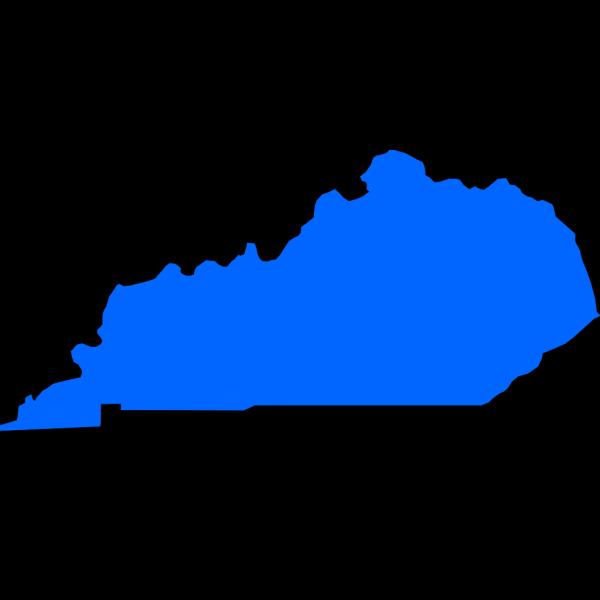 Blue Kentucky PNG Clip art