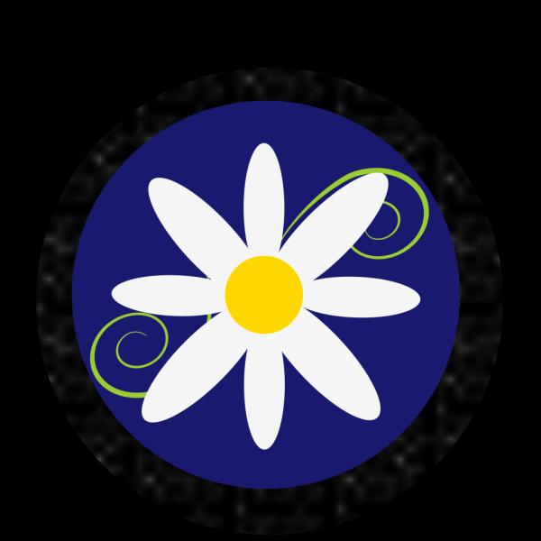 Daisy Polka Dot PNG clipart