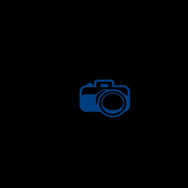 Camera Blue Logo PNG Clip art