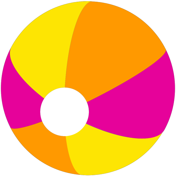 Beach Ball PNG image