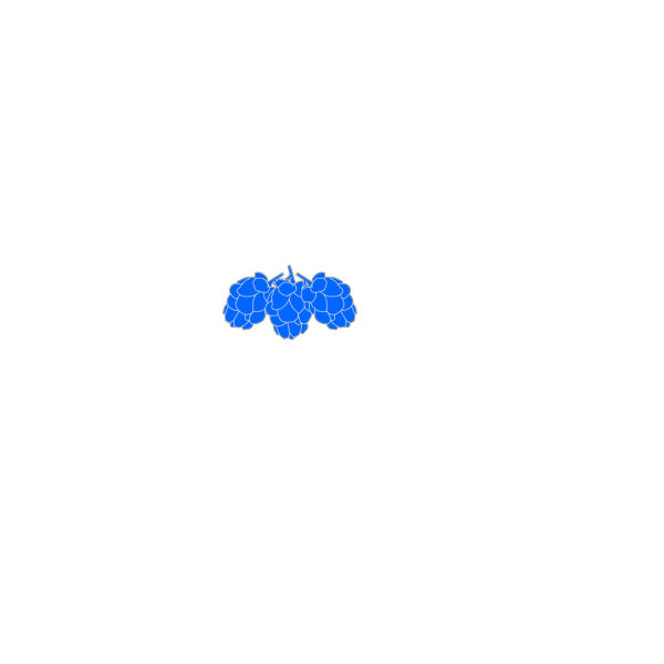 Blue Hops PNG icons
