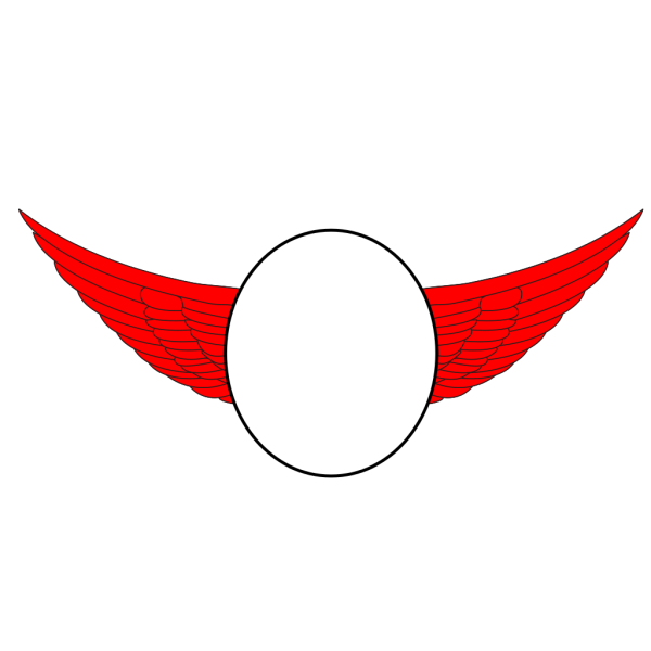 Blue Wings Asep PNG Clip art