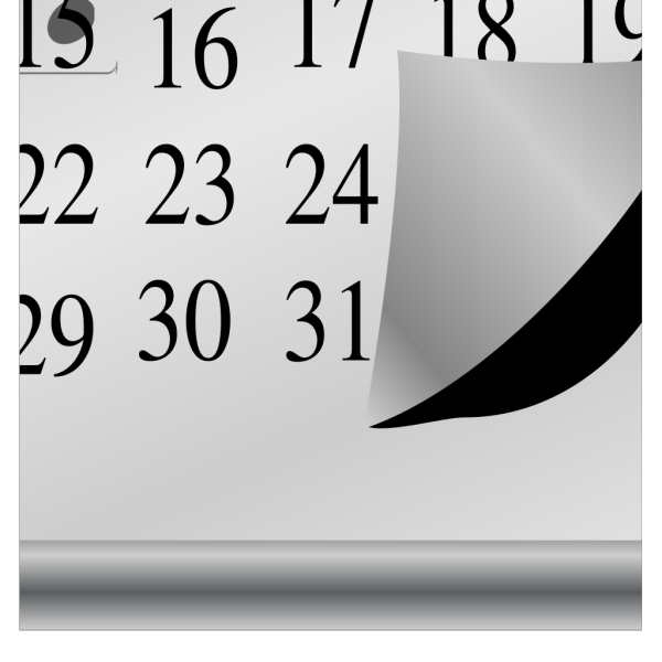 Calendar Larger PNG icon