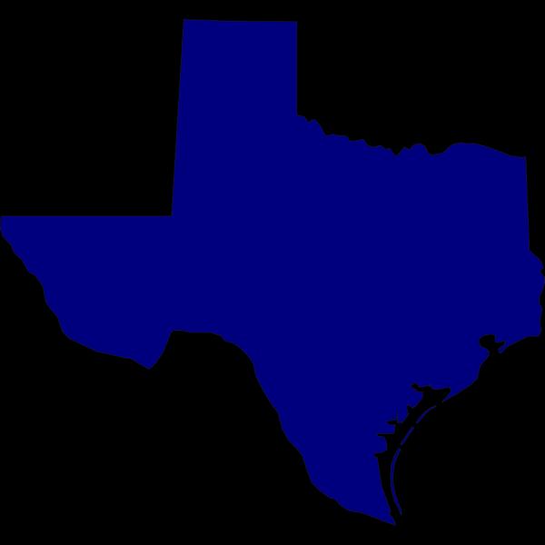 Blue Texas PNG Clip art