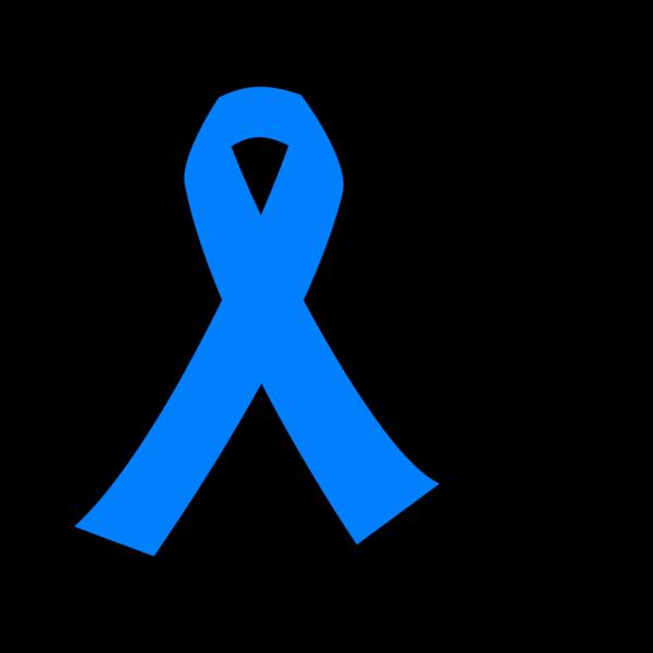 Light Blue Cancer Ribbon PNG Clip art