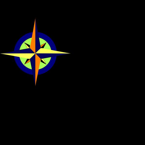 Compass Multi Four-color Compass PNG Clip art