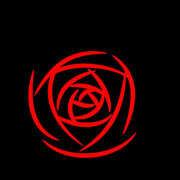 Rose Petals Blue PNG Clip art