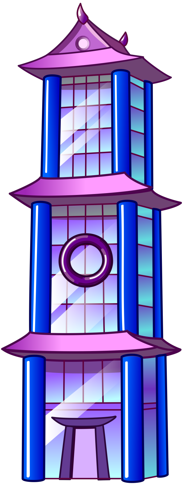 Skyscraper Roofs PNG Images