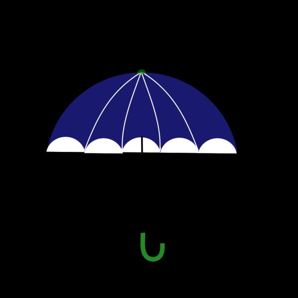 Blue And Green Umbrella PNG Clip art