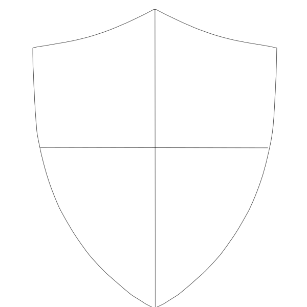 Shield Template 288 PNG Clip art