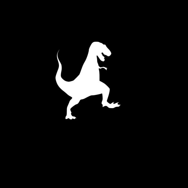 Blue T Rex Body PNG Clip art