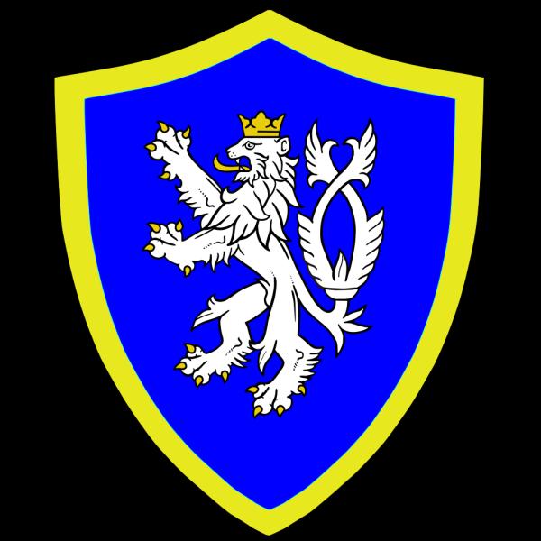 Lion On Shield PNG Clip art