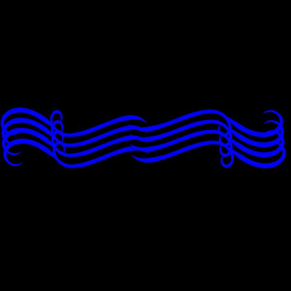 Big Blue Divider PNG Clip art