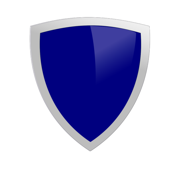 Dark Blue Security Shield PNG clipart