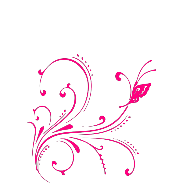 Blue And Pink Butterfly PNG Clip art