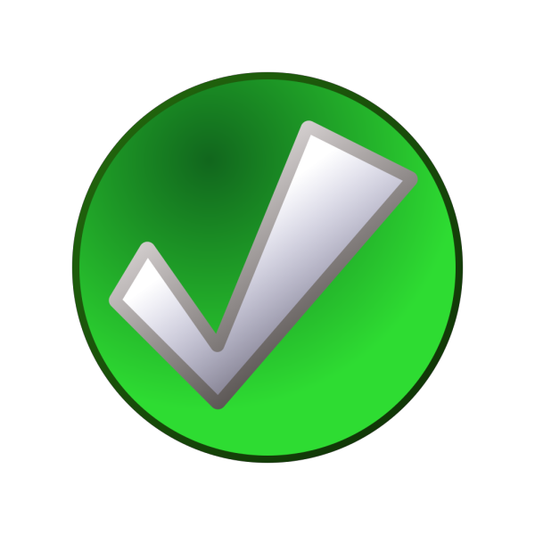 Green Tick PNG images
