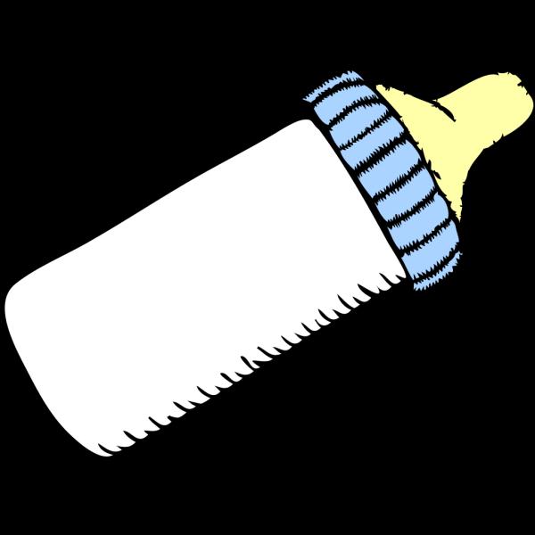 Baby Blue Bottle PNG Clip art